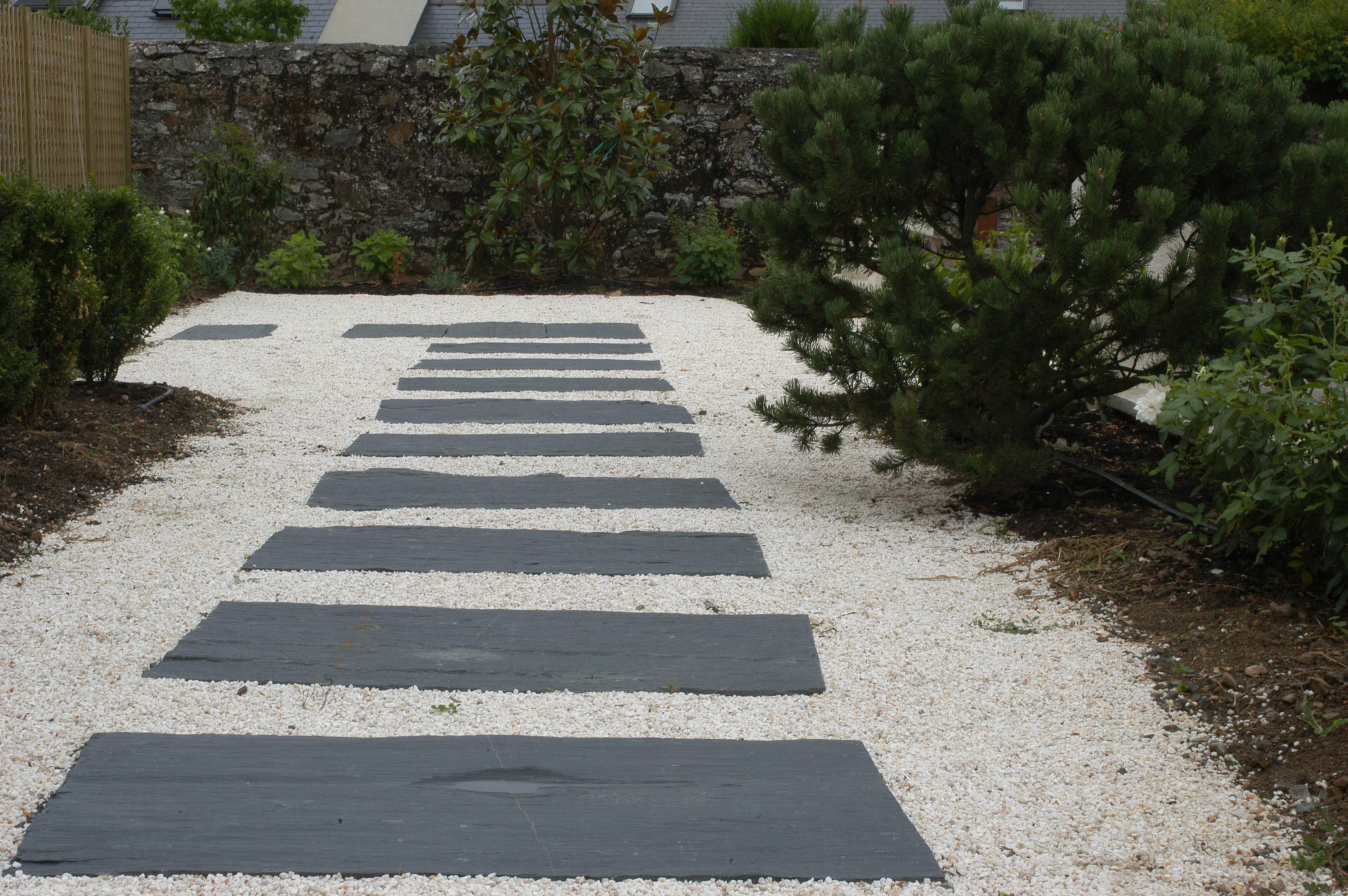 Dalles de schiste noir 130cmx33cm dpi - Dalles en ardoise pour jardin ...